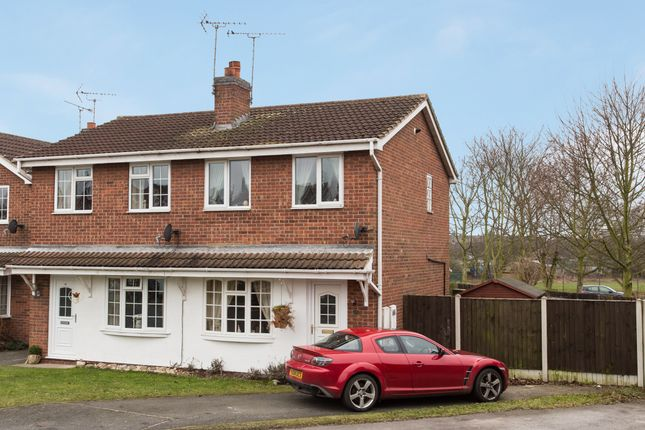 Thumbnail Semi-detached house for sale in The Heathers, Broughton