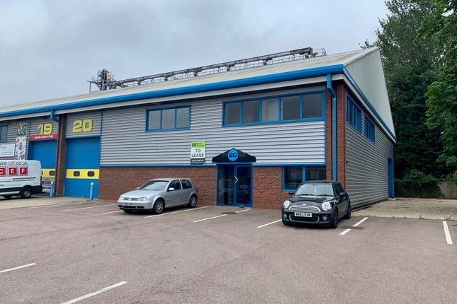 Thumbnail Industrial to let in 20 Bedford Business Centre, Mile Road, Bedford