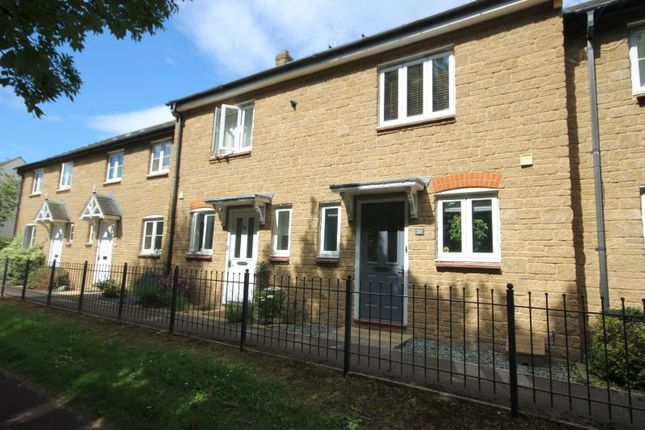 Thumbnail Terraced house to rent in Carnival Close, Ilminster
