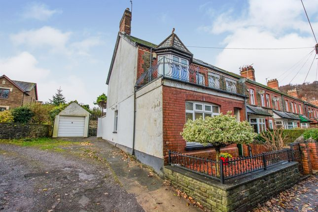 Thumbnail End terrace house for sale in Gelynis Terrace, Morganstown, Cardiff