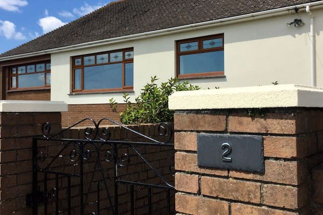 Thumbnail Detached bungalow to rent in West Farm Close, Ogmore By Sea