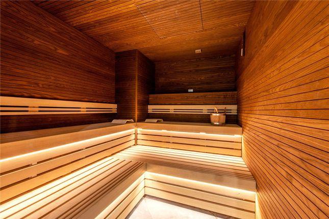 Communal Sauna of Carrara Tower, 250 City Road, London EC1V