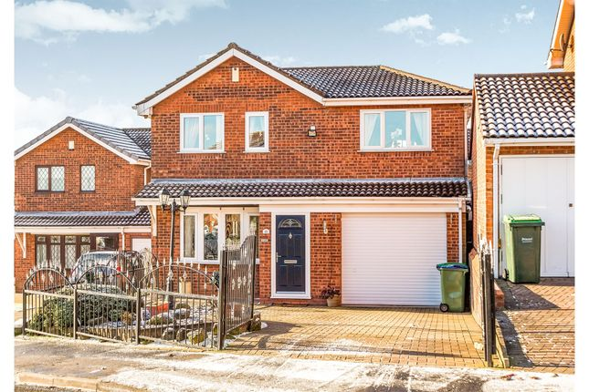 Thumbnail Detached house for sale in Midhill Drive, Rowley Regis