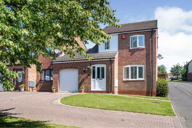 3 bed link-detached house for sale in Harvest Hill, Midway, Swadlincote DE11