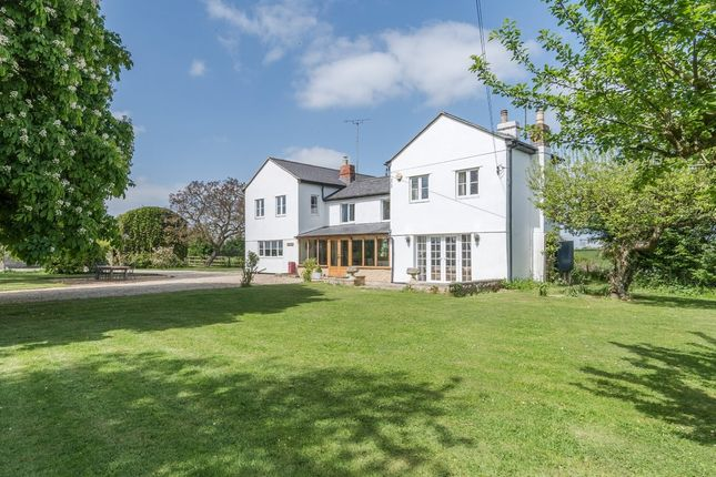 Thumbnail Detached house for sale in Malmesbury Road, Leigh, Swindon