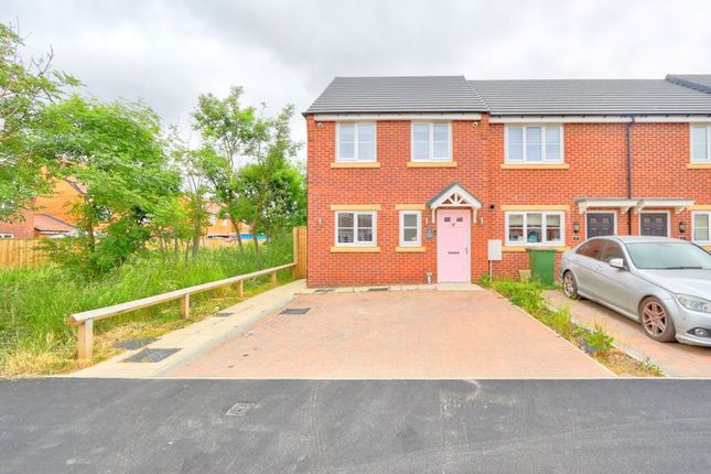 Thumbnail End terrace house for sale in Oakwood Gardens, Normanby