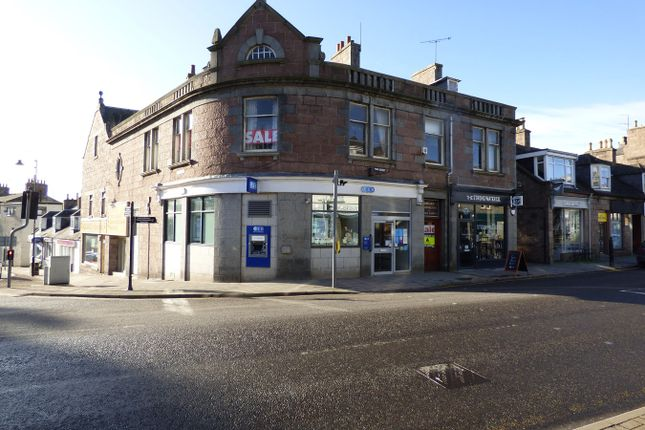 Thumbnail Commercial property for sale in High Street, Banchory