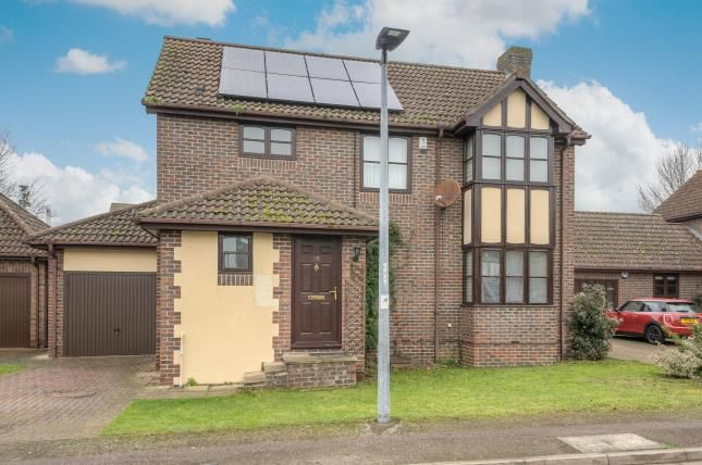 Thumbnail Detached house for sale in Riverview Way, Kempston, Bedford, Bedfordshire
