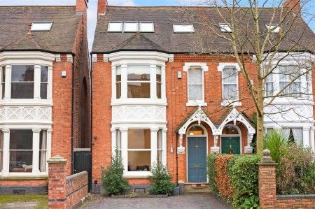 Thumbnail Semi-detached house for sale in Greenfield Road, Harborne, Birmingham, West Midlands