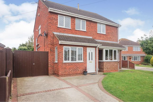 Thumbnail Semi-detached house for sale in Woburn Close, Waltham