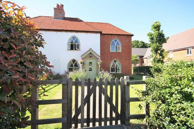 Thumbnail Semi-detached house for sale in Fragorum Fields, Fareham