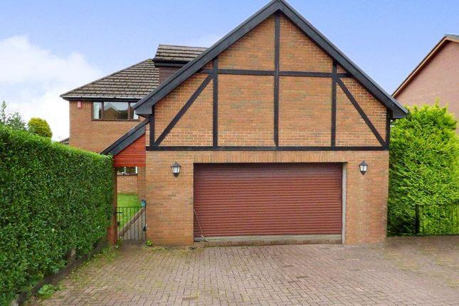 Thumbnail Detached house for sale in Winchfawr Park, Merthyr Tydfil