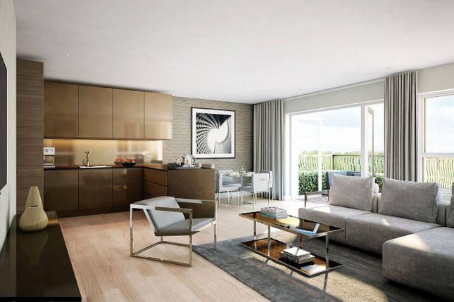 Thumbnail Flat to rent in Smithfield Square, London