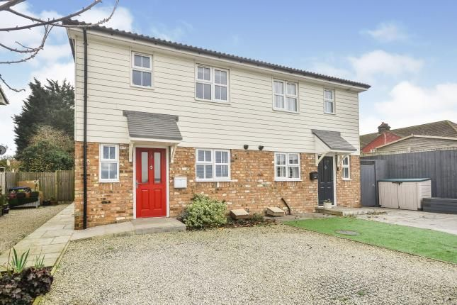 Thumbnail Semi-detached house for sale in Cherry Tree Mews, Dover Road, Guston, Dover