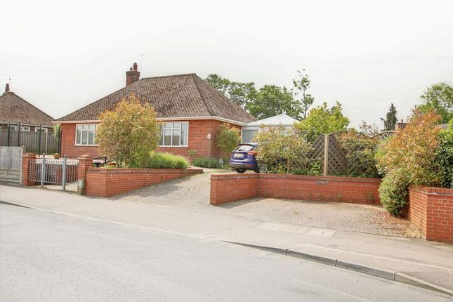 Thumbnail Bungalow for sale in Ellough Road, Worlingham, Beccles