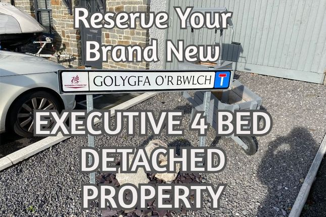 Thumbnail Detached house for sale in Golygfa-O'r-Bwlch -, Treorchy