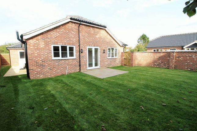 Thumbnail Detached bungalow for sale in Yaxham Road, Dereham, Norfolk