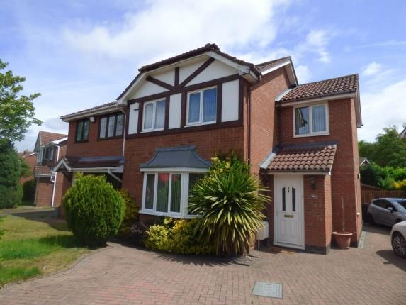 Thumbnail Semi-detached house for sale in Surrey Drive, Fazeley, Tamworth, Staffordshire