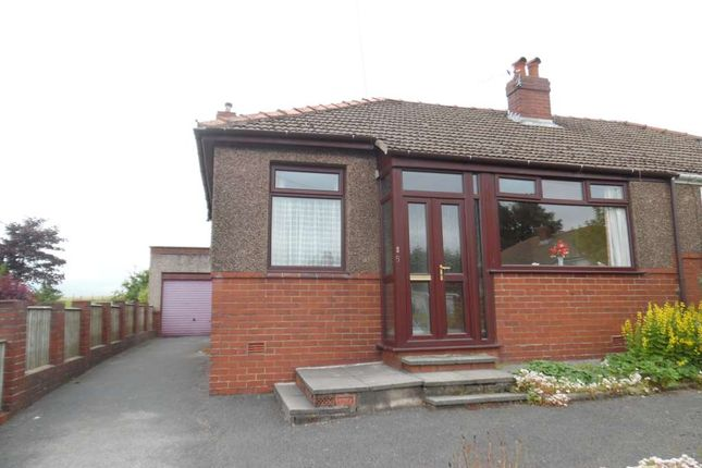 Thumbnail Semi-detached bungalow to rent in Moss Grove, High Crompton, Shaw.