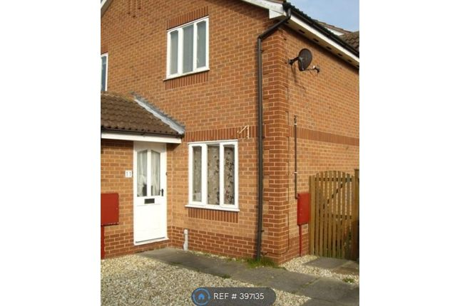 Thumbnail Semi-detached house to rent in Fern Close, Bilsthorpe, Newark