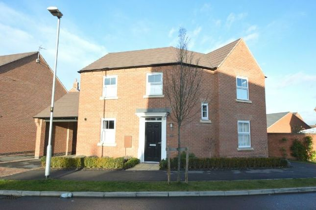 Thumbnail Detached house for sale in Abbott Way, Whetstone, Leicester