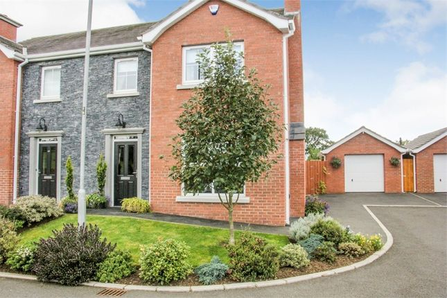 Thumbnail Semi-detached house for sale in Scarvagh Heights, Scarva, Craigavon, County Down