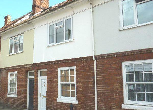 Thumbnail Terraced house to rent in Pennyfarthing Street, Salisbury
