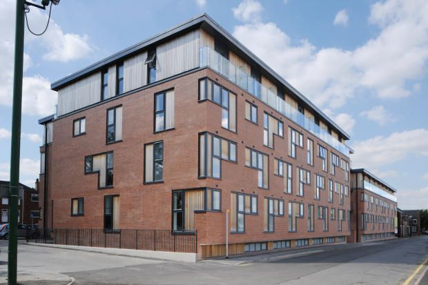 Thumbnail Flat to rent in Apartment, Linea, Dunstall Street, Scunthorpe