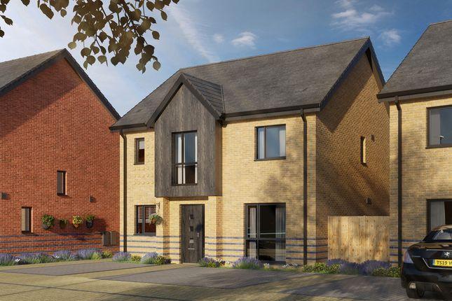 Thumbnail Detached house for sale in Keightley Gate, Glebe Farm, Milton Keynes