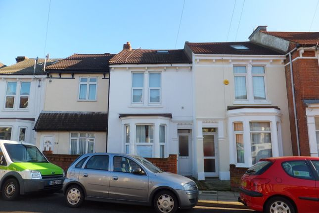 Thumbnail Terraced house to rent in Fawcett Road, Southsea, Portsmouth