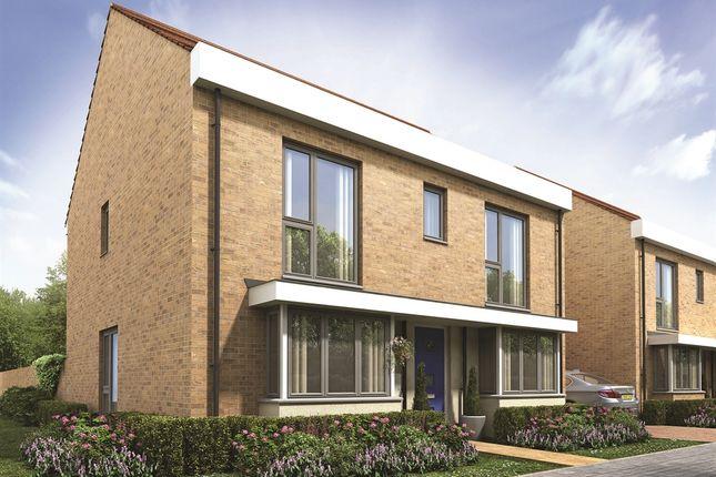 "Thumbnail Detached house for sale in ""The Corfe"" at Thomas Bata Avenue, East Tilbury, Tilbury"