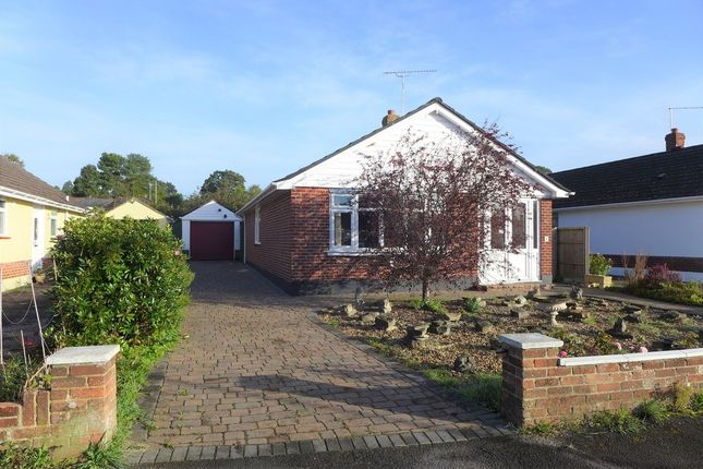 Thumbnail Detached bungalow for sale in Bramley Road, Ferndown