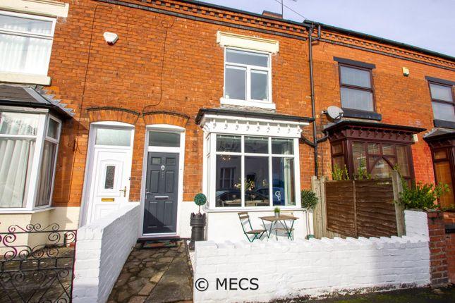 Thumbnail Terraced house for sale in Regent Road, Harborne, Birmingham, West Midlands