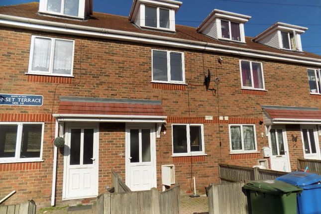 Thumbnail Terraced house to rent in Sunset Terrace, Queenborough