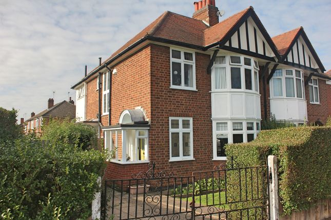 Thumbnail Semi-detached house for sale in Carisbrooke Road, South Knighton, Leicester