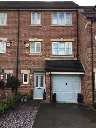 Thumbnail 4 bed town house for sale in Burleigh Court, Tuxford, Newark