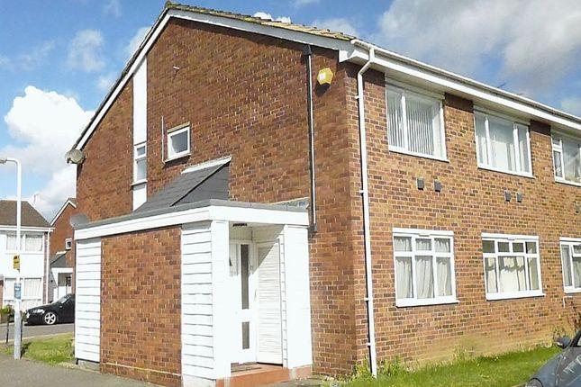 Thumbnail Maisonette to rent in Quantock Close, Harlington, Hayes
