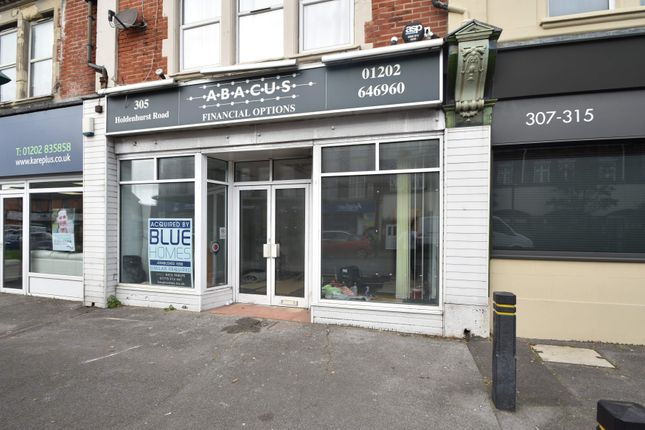 Thumbnail Retail premises to let in 305 Holdenhurst Road, Bournemouth