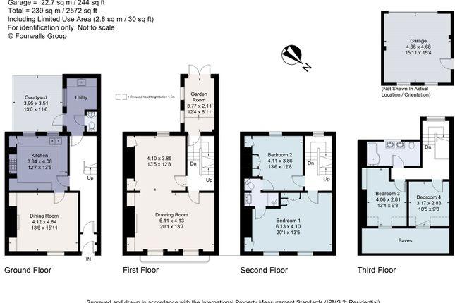 Floorplan of Prior Park Buildings, Bath BA2