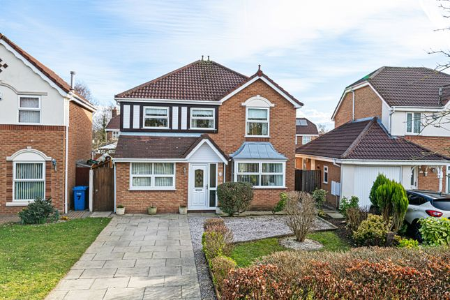 5 bed detached house for sale in Barbondale Close, Great Sankey, Warrington WA5