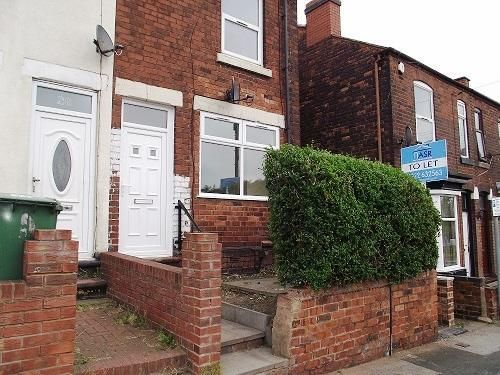 Thumbnail End terrace house to rent in Moat Road, Walsall