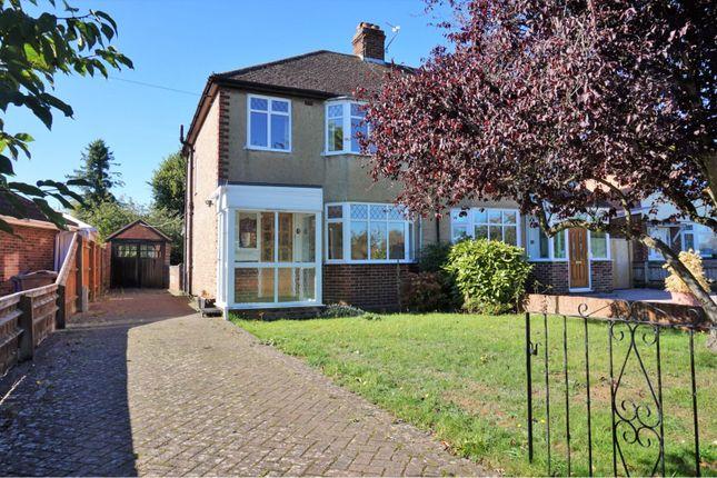 Thumbnail Semi-detached house for sale in Woodstock Road, Yarnton
