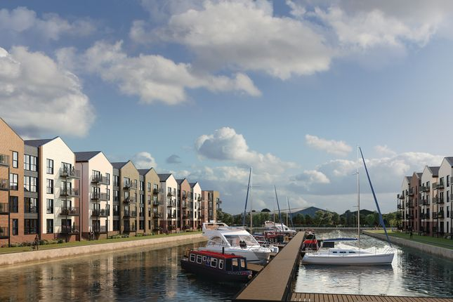 Thumbnail Flat for sale in The Wye - Waterfront, Hempsted, Gloucester