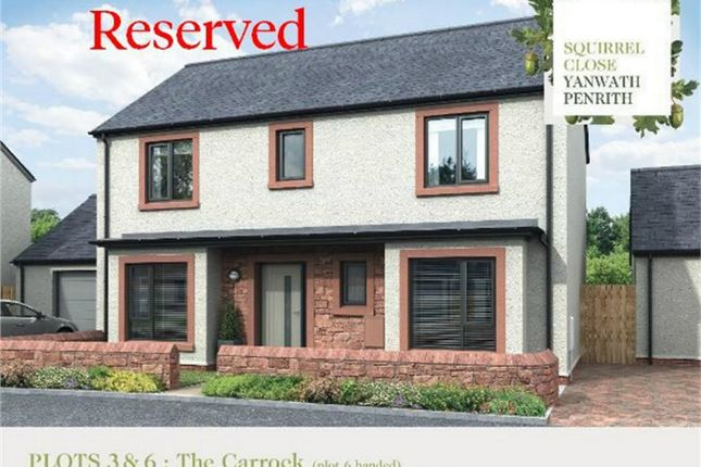 Thumbnail Detached house for sale in Plot 3 Squirrel Close, Yanwath, Penrith