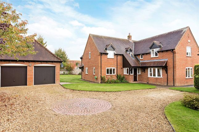 Thumbnail Detached house for sale in St. Katherines, Winterbourne Bassett, Wiltshire