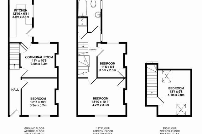 Floorplan of Hartoft Street, York YO10