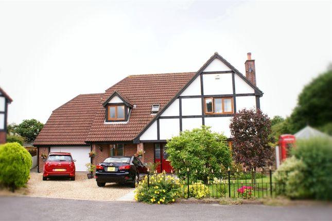 Thumbnail Detached house for sale in Llys Pendderi, Bryn, Llanelli, Carmarthenshire