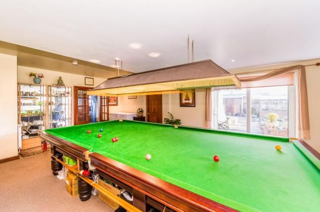 Games Room of Stony Houghton, Mansfield, Derbyshire NG19