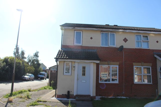 1 bed semi-detached house for sale in Manston Close, Leicester LE4