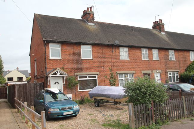 Thumbnail End terrace house for sale in Trafalgar Road, Colchester